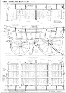 Sheet 2 of John Thompsons Monmouthshire Farm Waggon